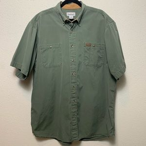 CARHARTT Mens Extra Large Tall Button Down
